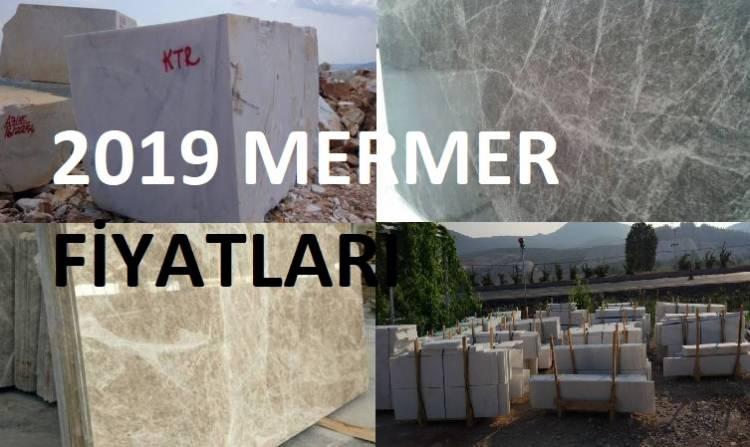 mermer fiyatları listesi 2019 güncel