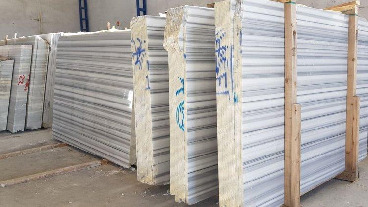 marmara beyaz mermer fabrika, marmara white marble factory