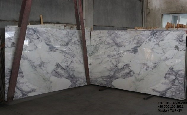 Royal purple marble