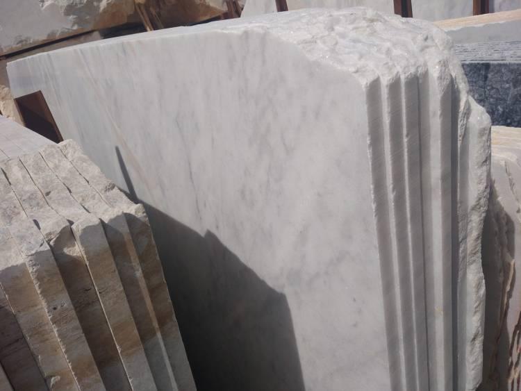 Мугла белый мраморный карьер и завод