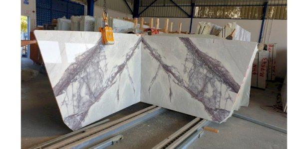 Flieder Marmorplatten