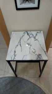 Newyork Lilac Marble Table