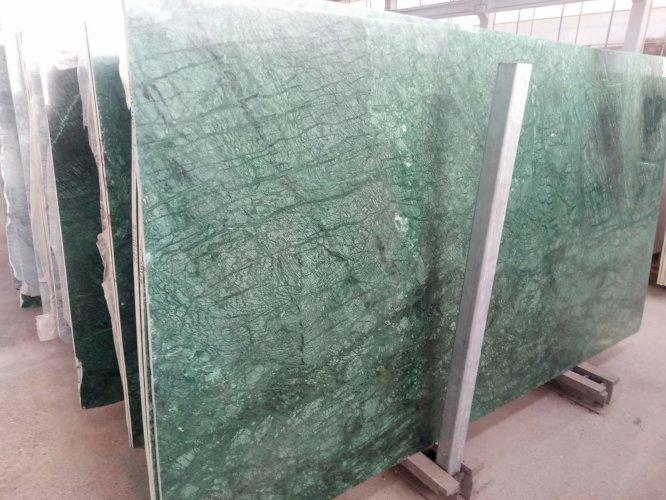 Verde Guatemala Yeşil Granit Mermer 2cm Plaka