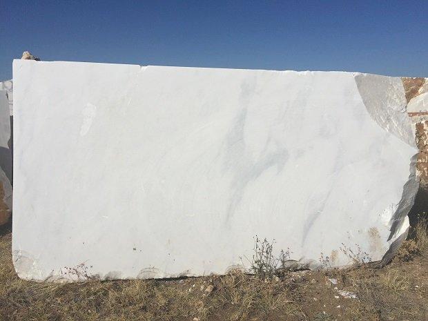 Afyon weißer Marmor